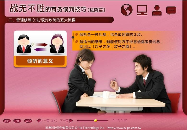 Ⓜ战无不胜的商务谈判技巧_进阶篇(简)_DEMO